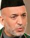 Hamid Karzai Größe